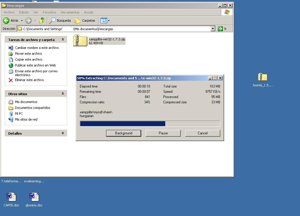 Obtención y puesta en marcha de Xampp Lite