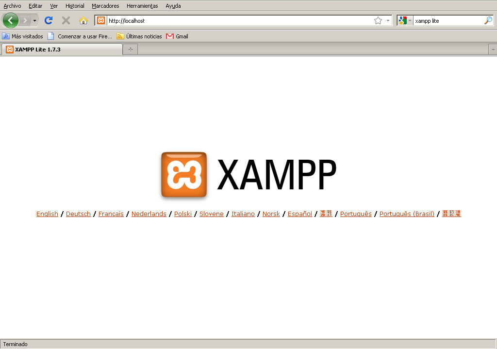 xampplite windows