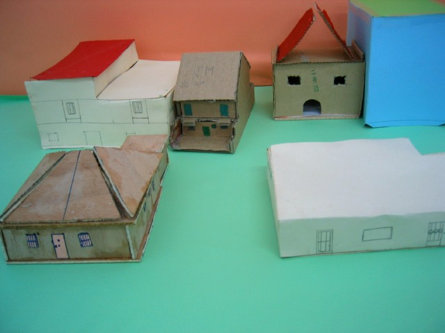 Tecno21 maquetas Casas hechas de carton