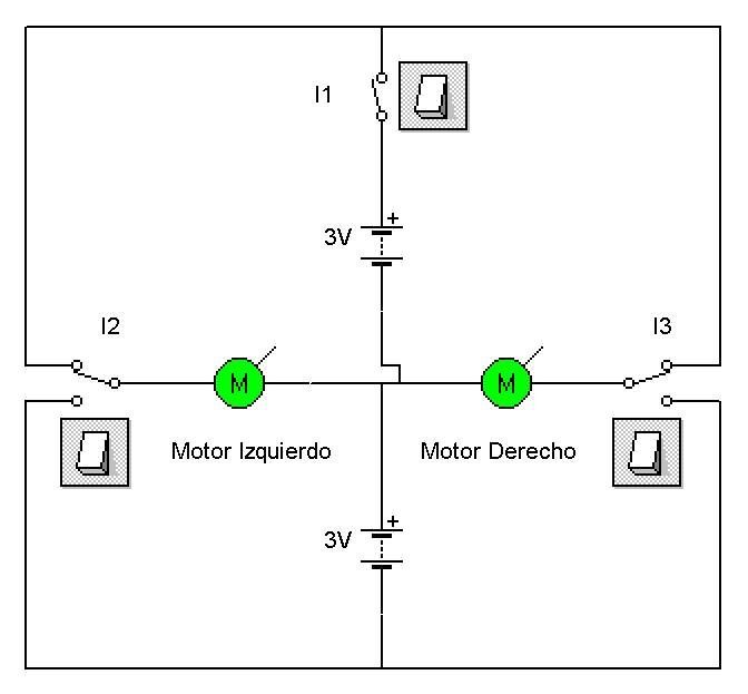 esquema el u00e9ctrico y funcionamiento del robot