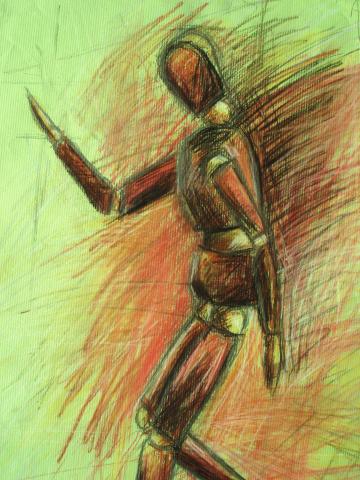 Dibujo artistico Espectaculo artistico de caracter excepcional
